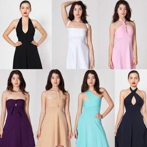 American Apparel Convertible Halter Dress
